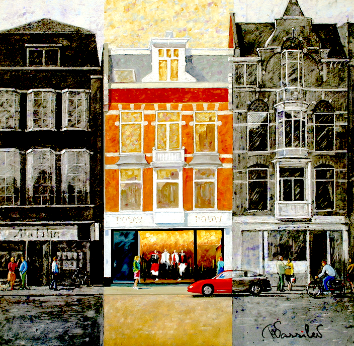 Amsterdam 014 | Van Baerlestraat | 80x90