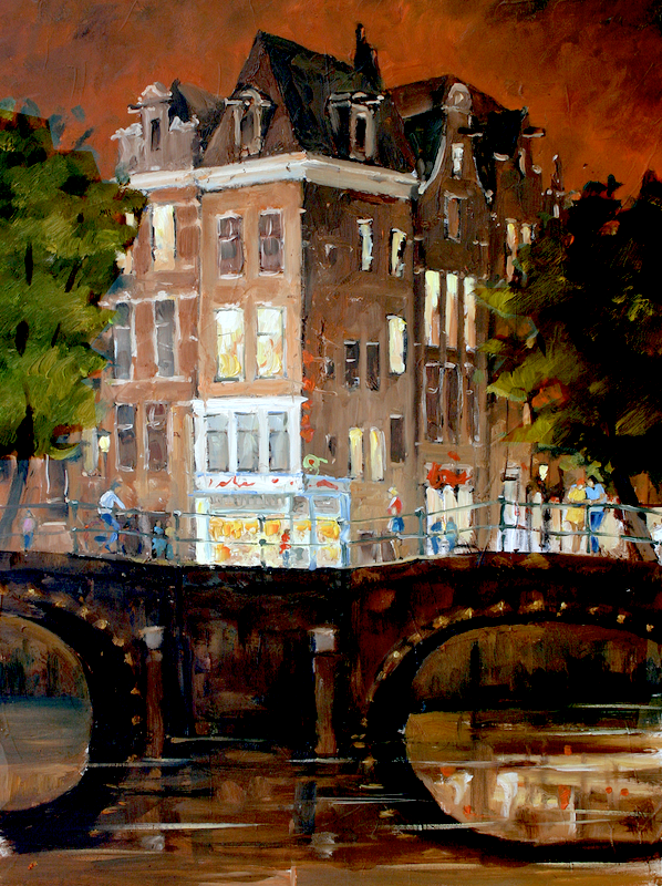 Amsterdam 058 | Brouwersgracht | 80x60