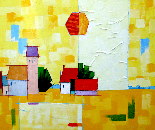A-638 | Landscape Yellow 1 | 100x120